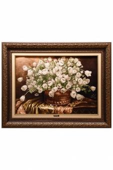 گل لاله و گلدان