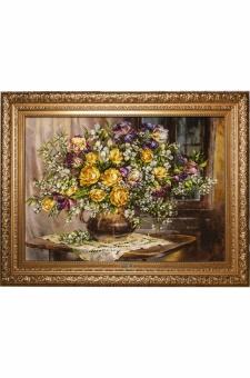 گل و گلدان وپنجره